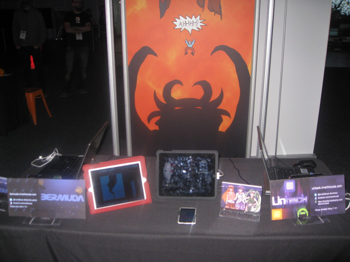 ProjectMW Games booth at eb expo2013