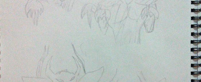 demon spirit sketches 1